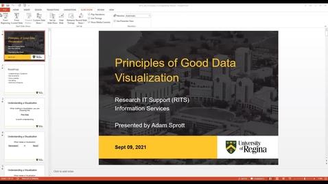 Thumbnail for entry RITS Webinar: Principles of Good Data Visualization - Sep 9, 2021